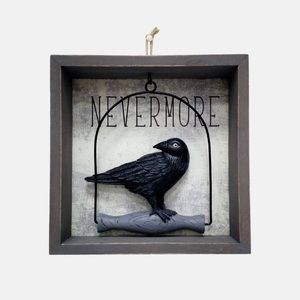 Halloween Raven Wall Decor
